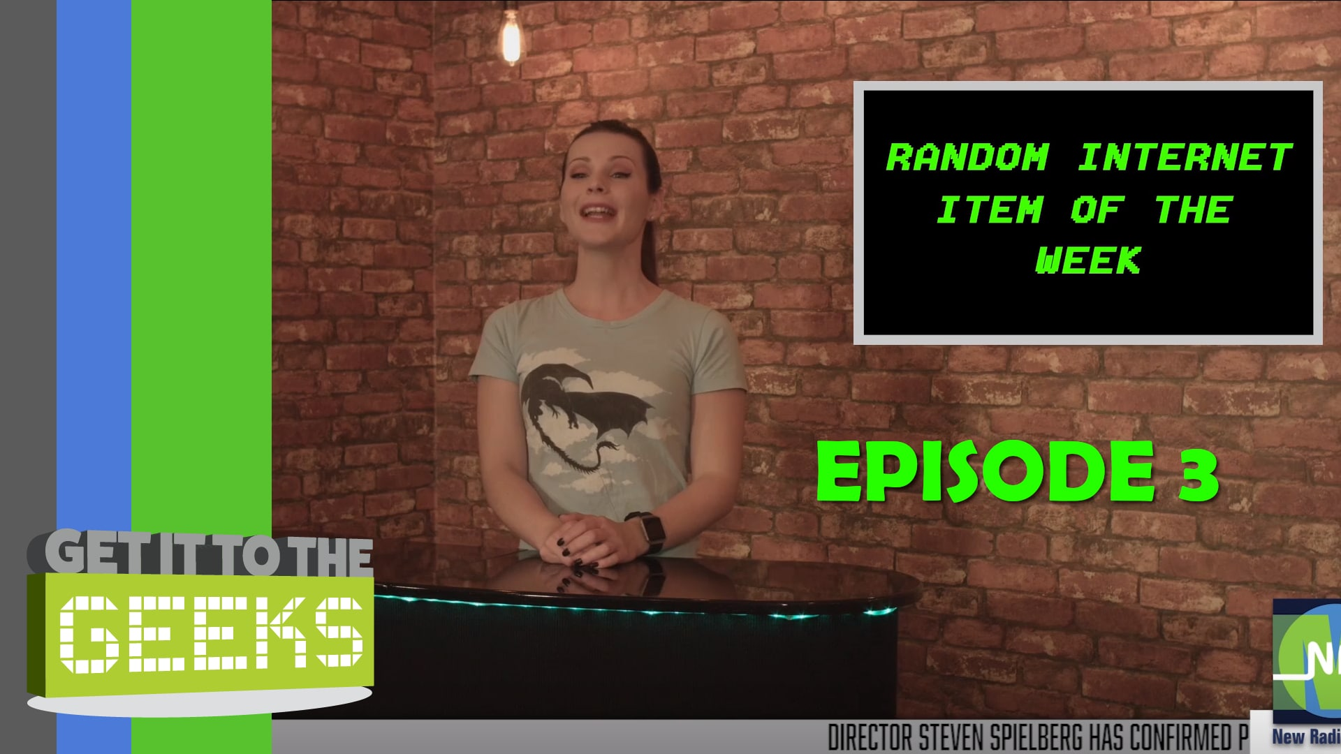 Get It To The Geeks - Episode 3:Jordan and the Return of the Prisoner from the Last Crusade