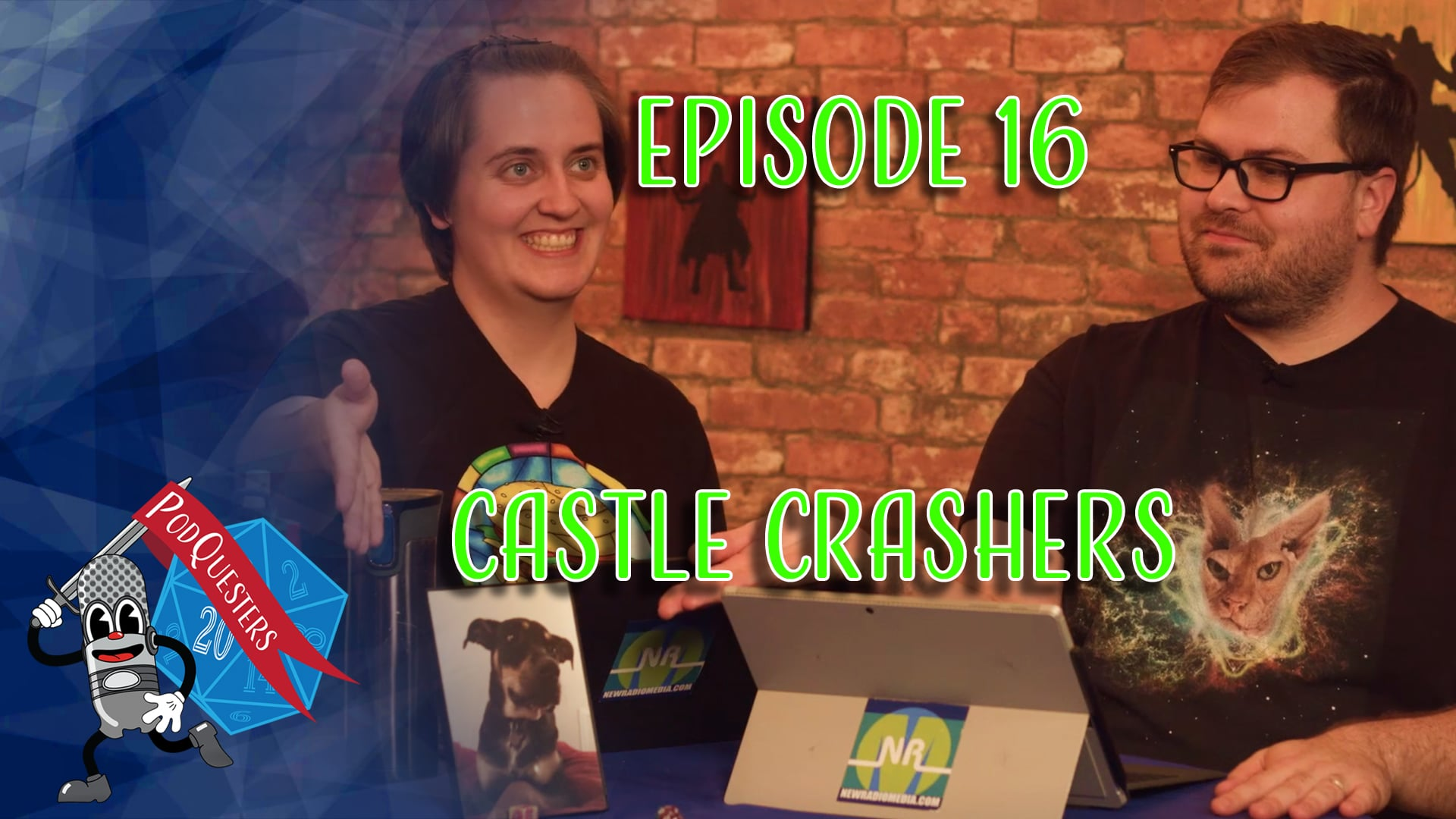 Podquesters - Episode 16: Castle Crashers