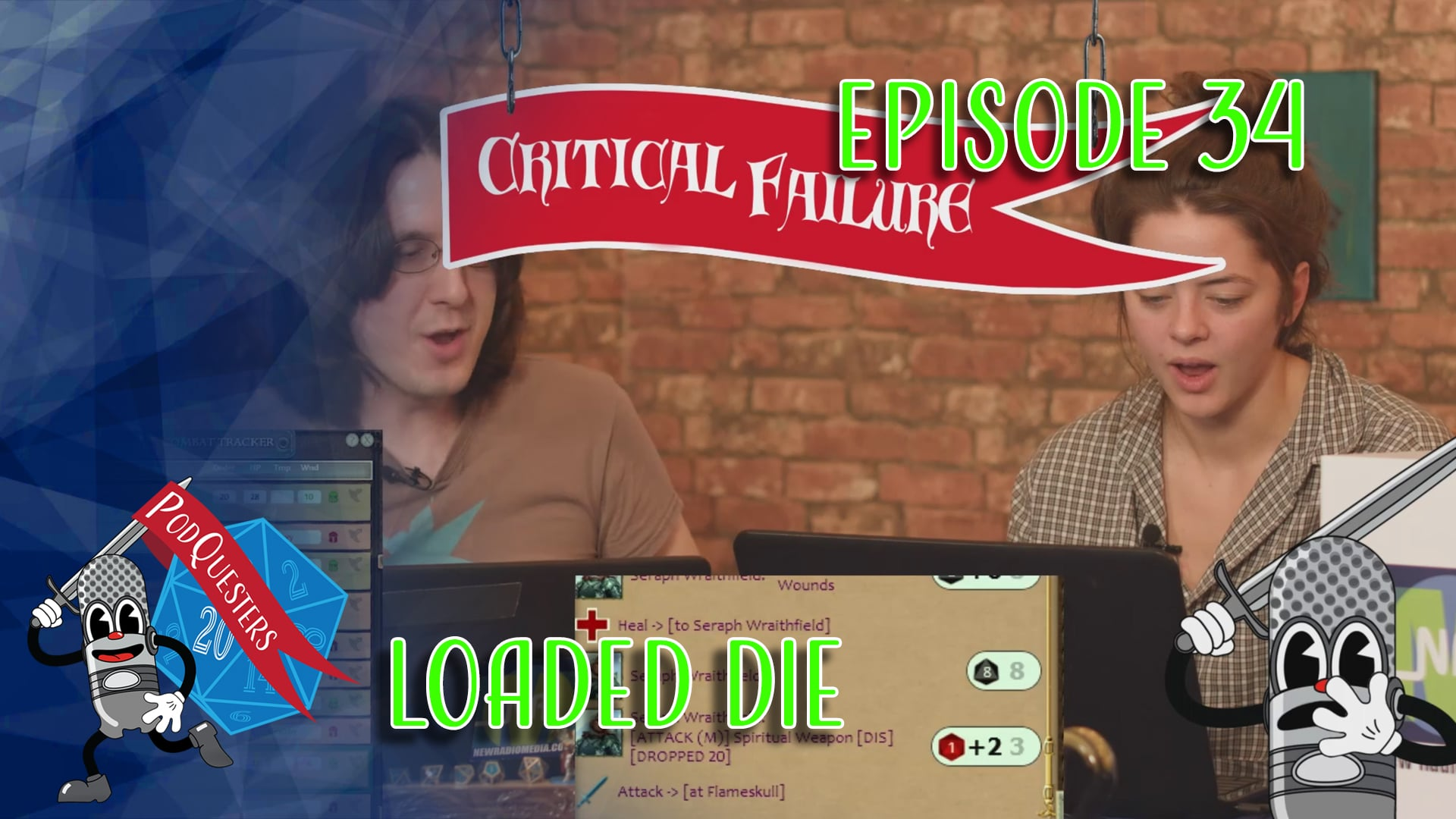 Podquesters - Episode 34: Loaded Die