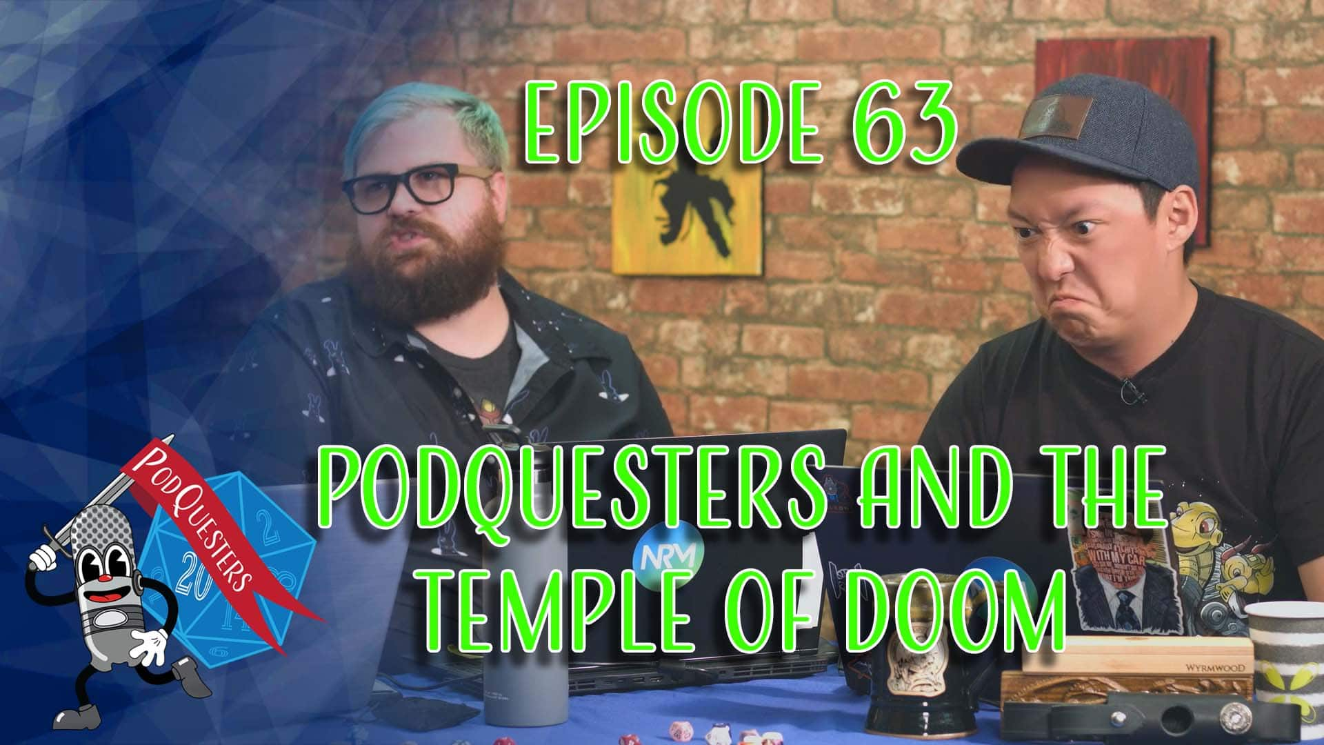 Podquesters - Episode 63: Podquesters and the Temple of Doom