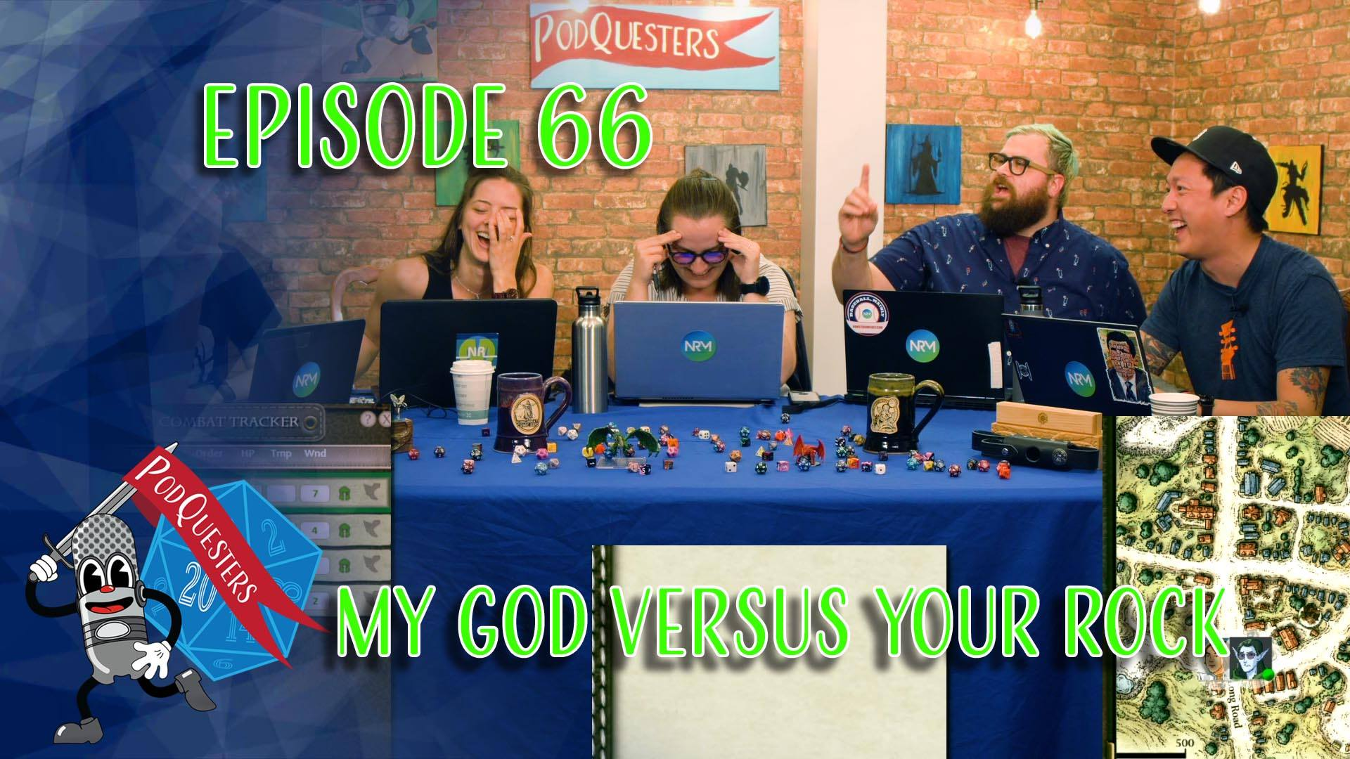 Podquesters - Episode 66: My God Versus Your Rock