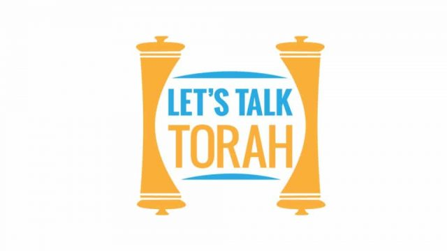 Watch Tues/Thurs 2pm EST - Let's Talk Torah