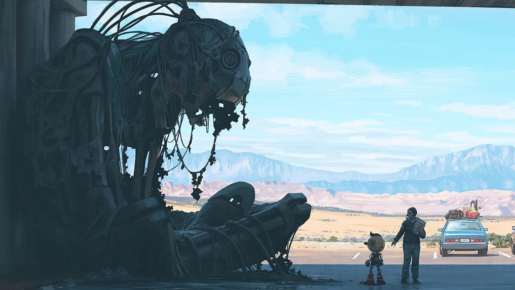 Simon Stalenhag Electric State
