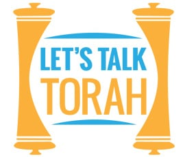 Let's Talk Torah Square Logo