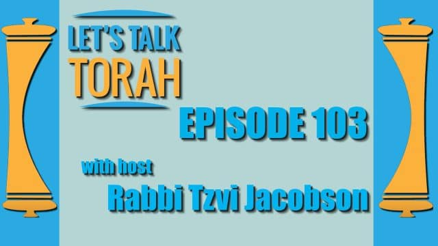 Let's Talk Torah - Episode 103 - Rosh Hashanah