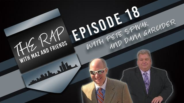 The Rap with Maz & Friends - Episode 18 - Fred Heumann & Pete Spivak Jr.