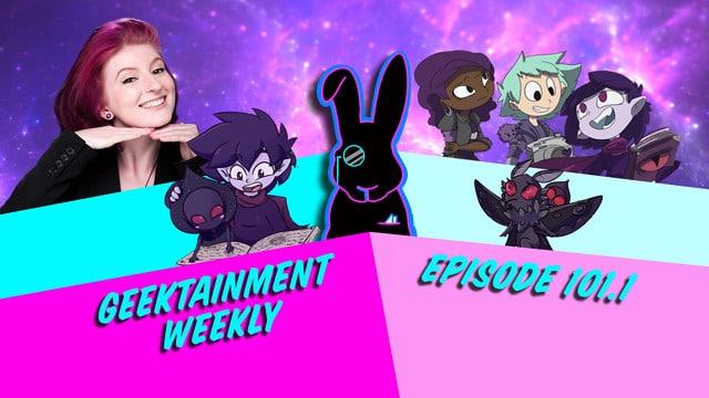 Geektainment Weekly - Episode 101.1 - Samantha Sawyer