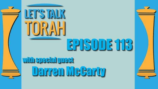 Let's Talk Torah - Episode 113 - Darren McCarty
