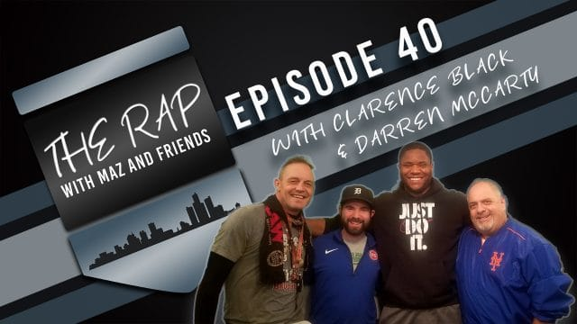 The Rap With Maz & Friends - Episode 40 - Buzzergate and NFL Championship Weekend Preview